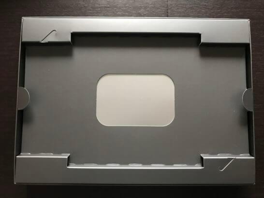 アメックス・プラチナのウェルカムギフトの箱