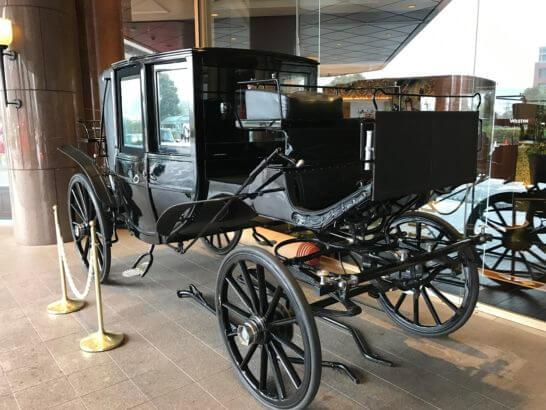 ウェスティンホテル東京の馬車