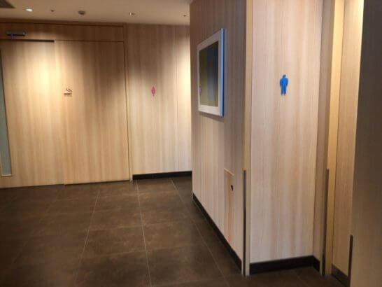 サクララウンジ(羽田空港国際線)の喫煙室