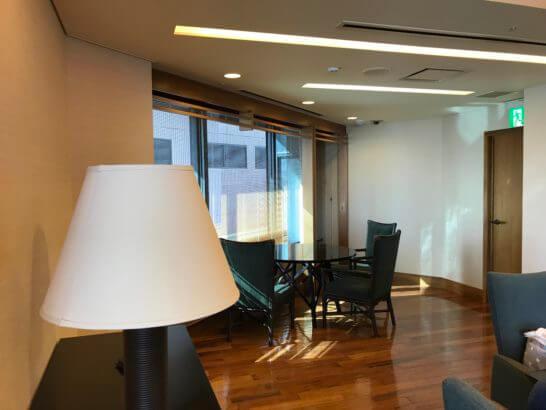 新生銀行プラチナサロンの個室