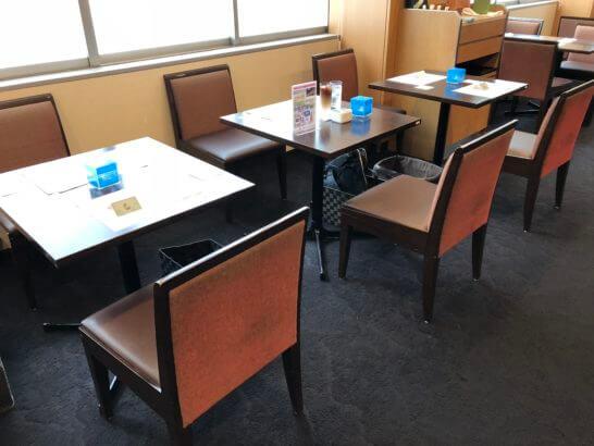 東京国立博物館のThe Green Cafeのアメックス会員専用シート
