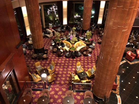 ウェスティンホテル東京のロビーラウンジ(夜) (2)