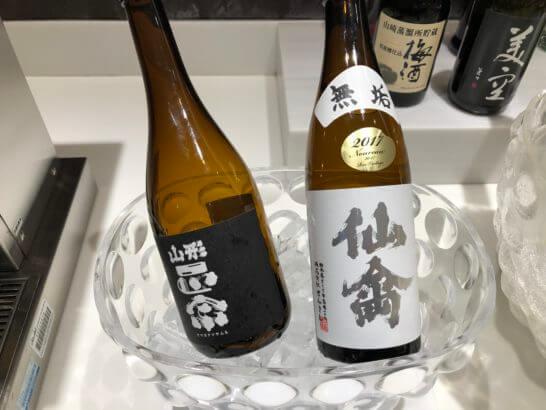 サクララウンジ(羽田空港国際線)の日本酒