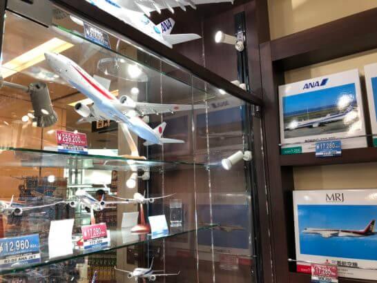 ANA FESTAの飛行機の模型
