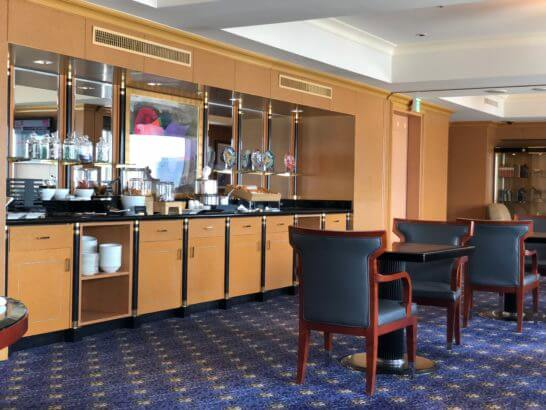 ウェスティンホテル東京のエグゼクティブ クラブラウンジの室内