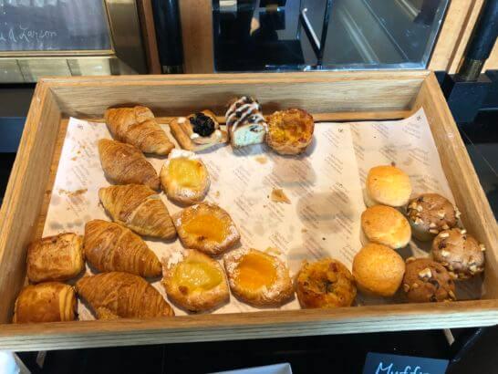 ウェスティンホテル東京 エグゼクティブ クラブラウンジのパン