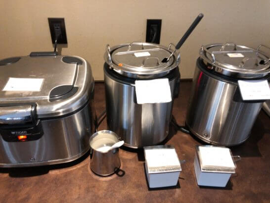 TIAT LOUNGE ANNEXのカレー、スープ
