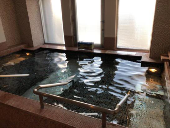ウェスティンホテル東京の寝風呂