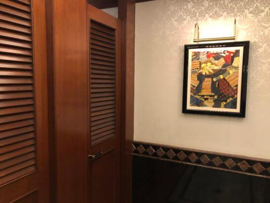 ウェスティンホテル東京の22Fのトイレ