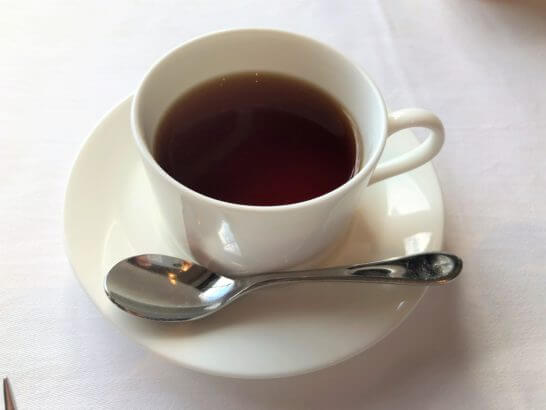 フレンチレストラン ビクターズの紅茶