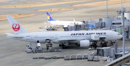 JALの飛行機