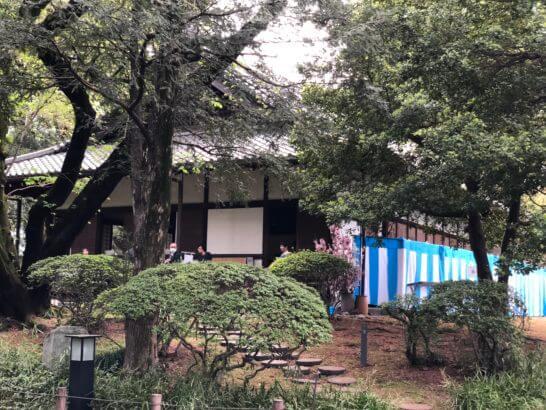 東京国立博物館庭園内の「応挙館」