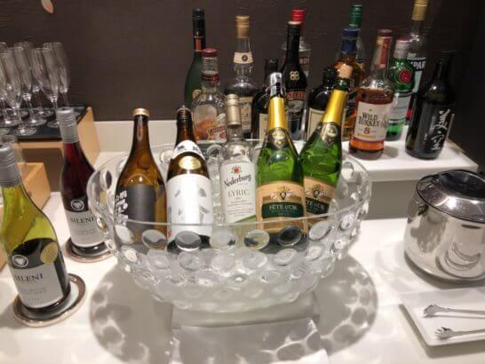 サクララウンジ(羽田空港国際線)の酒類