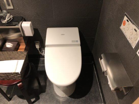 サクララウンジ(羽田空港国際線)のシャワールーム(トイレ)