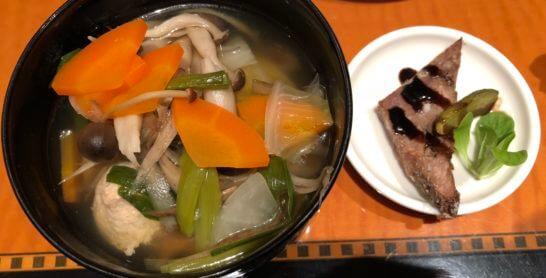 野菜の鍋・肉団子入り、コールドミート