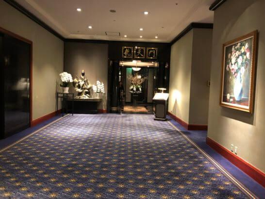 ウェスティンホテル東京の中華レストラン「龍天門」
