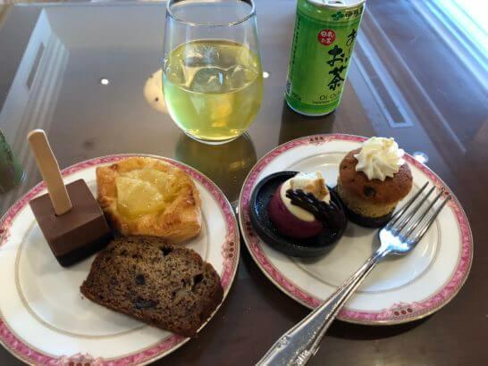 ウェスティンホテル東京 エグゼクティブ クラブラウンジのチェックアウト時の食事