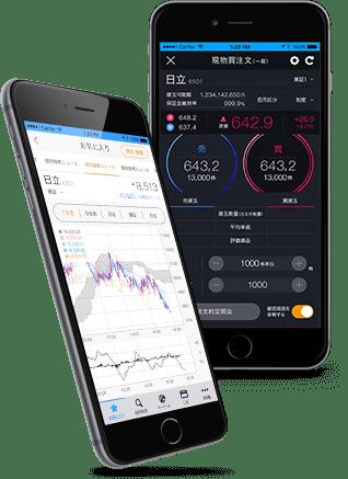 DMM株 スマホアプリのノーマルモード