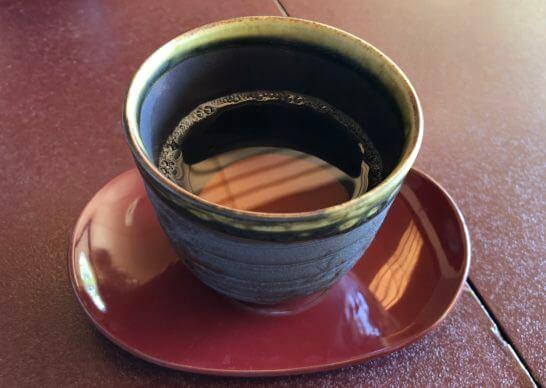 横浜ベイシェラトンホテルの木の花のほうじ茶
