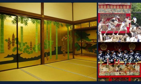 アメックスの京都特別観光ラウンジでの茶会