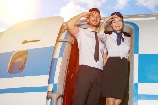 パイロットとスチュワーデス