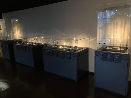東京西洋美術館のダイヤモンド・プラチナ・金・銀の芸術品・宝飾品