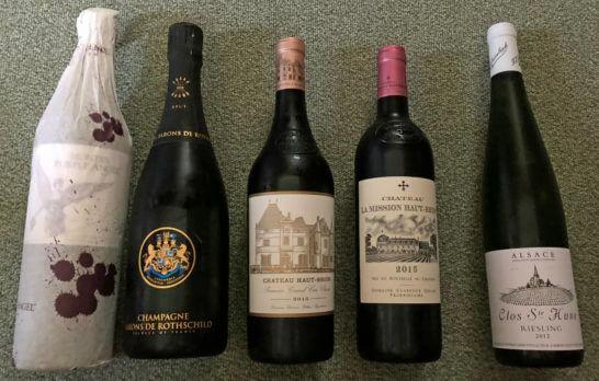 赤ワイン・白ワイン・シャンパン