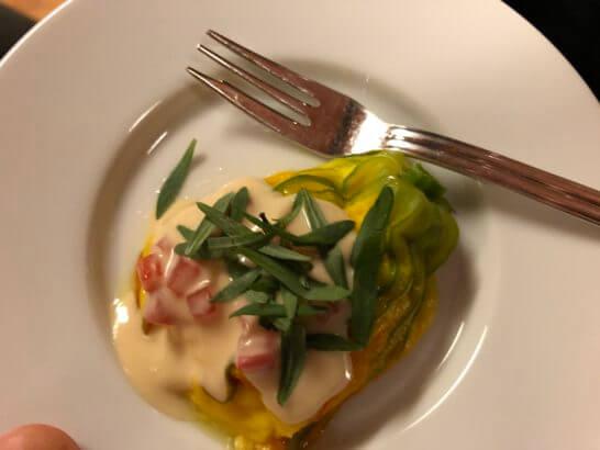 LA LISTE日本最優秀レストランを祝うレセプションの料理 (1)