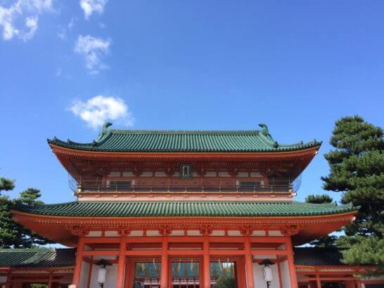 京都の平安神宮