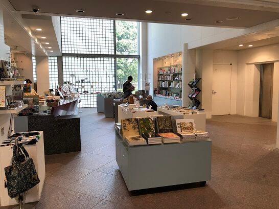 京都国立近代美術館のミュージアムショップ