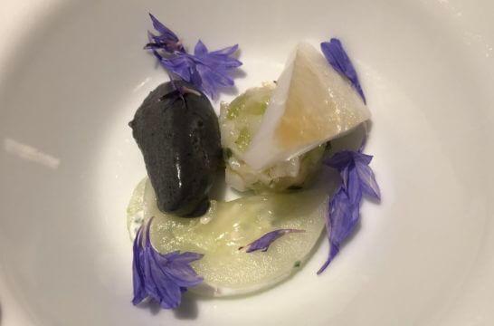 LA LISTE日本最優秀レストランを祝うレセプションの料理 (5)