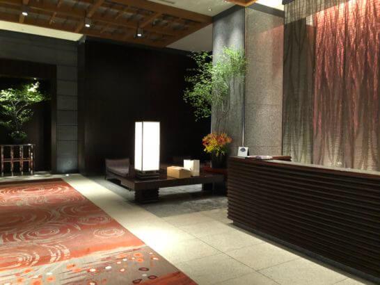マンダリン オリエンタルホテル東京のロビー
