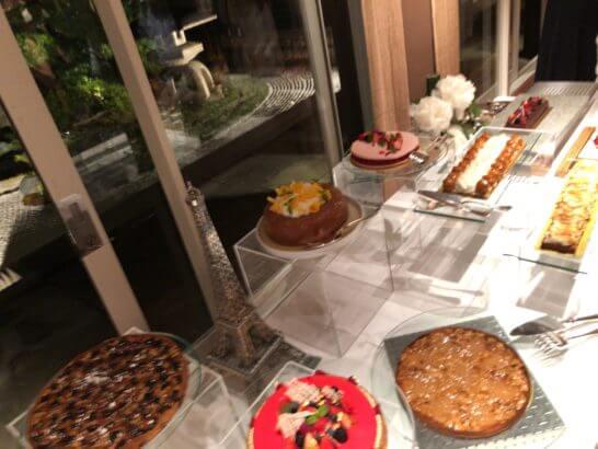 LA LISTE日本最優秀レストランを祝うレセプションのデザート (1)