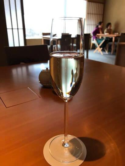 ハイアットリージェンシー東京の佳香のスパークリングワイン