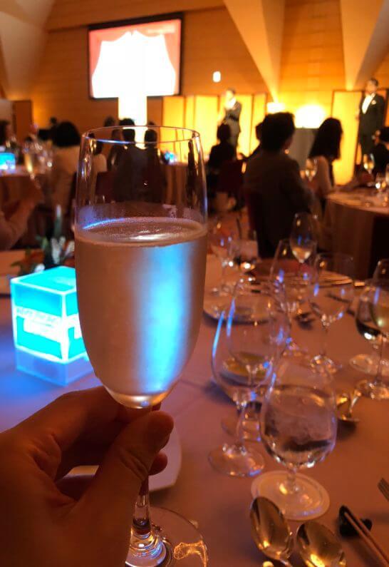 アメックス・プラチナの「ダイニング・イベント」の乾杯