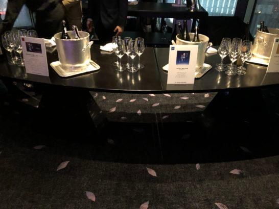 SAKE COMPETITION 2019 授賞パーティーの日本酒(JAL Bar)