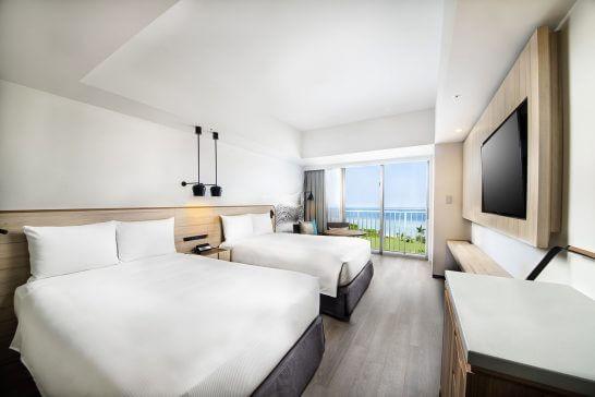 ヒルトン沖縄瀬底リゾートホテルの客室