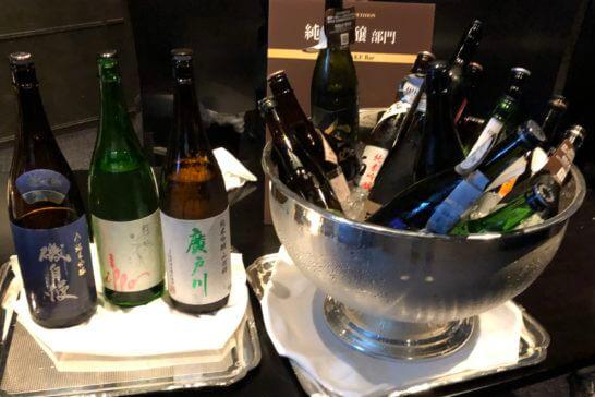SAKE COMPETITION 2019 授賞パーティーの日本酒(純米吟醸部門)