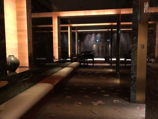 ペニンシュラ東京の廊下