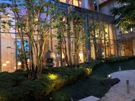 東京アメリカンクラブの建物