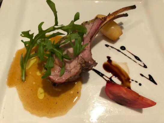 ヨコハマグランドインターコンチネンタルホテルのイタリア料理「ラ ヴェラ」の肉料理