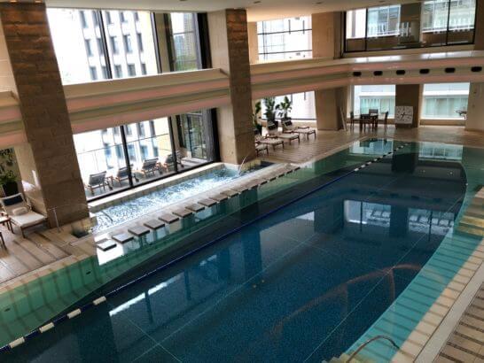 ザ・ペニンシュラ東京のプール
