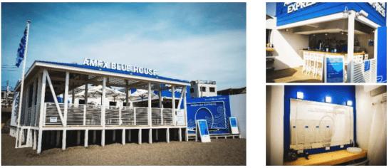 アメックスの海の家「AMEX BLUE HOUSE」