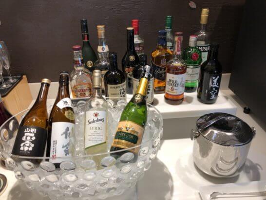 サクララウンジのアルコール類