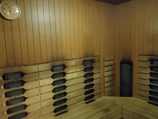 横浜ベイシェラトンホテルのシェラトンスポーツクラブのサウナ