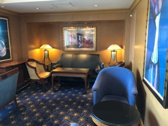 恵比寿のウェスティンホテル東京のクラブラウンジ