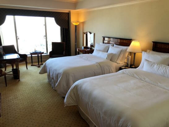 ウエスティンホテル東京のツインルーム