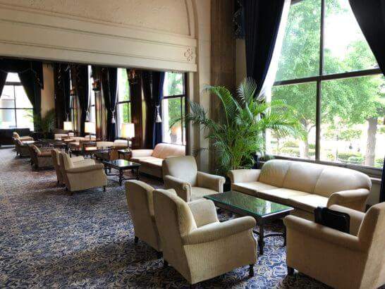 ホテルニューグランドのホール