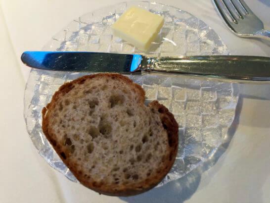 ホテルニューオータニのベッラ・ヴィスタのパン