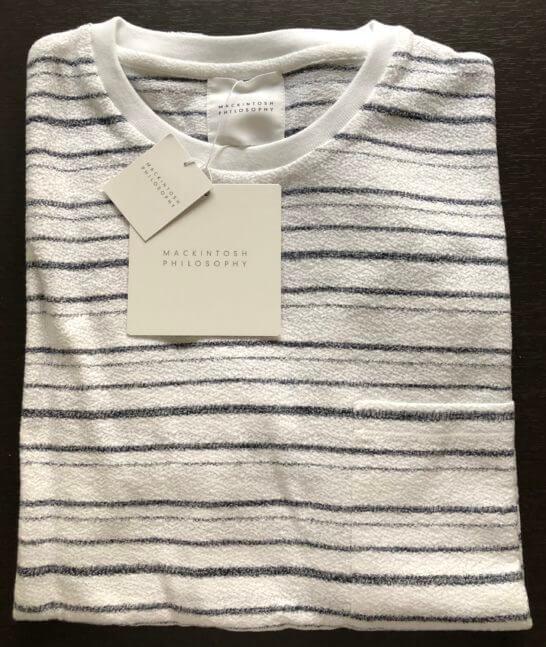三越伊勢丹オンラインストアで購入したTシャツ